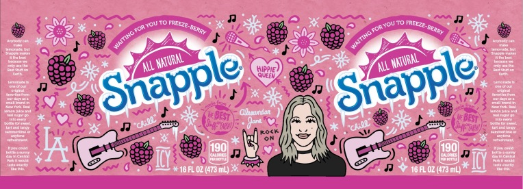 snapple_rockerchick_label
